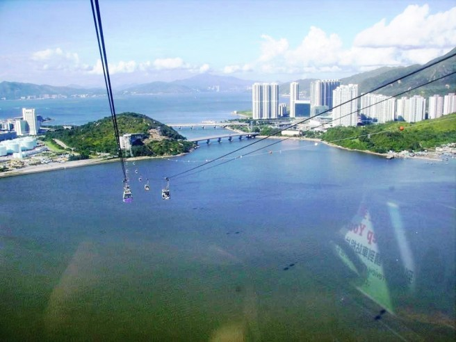 tung chung cable cars