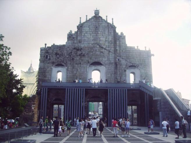 Ruins Macau Back