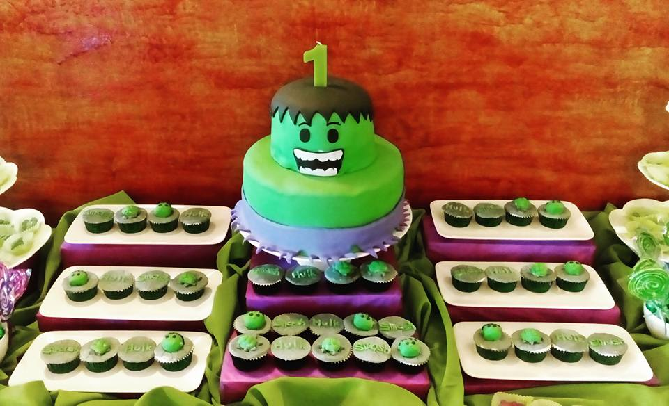 Arcy S 1st Incredible Hulk Birthday Party Angela Christi